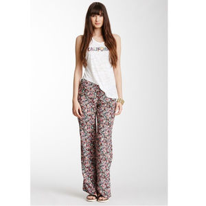Oneill rose floral print jiggy beach pants S
